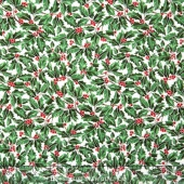 Suite Christmas - Holly Holiday Icicle Metallic Yardage