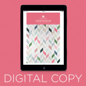 Digital Download - Herringbone Pattern by Missouri Star