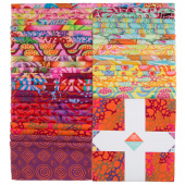 "Kaffe Fassett Collective Spring 2018 - Bright 10"" Squares"