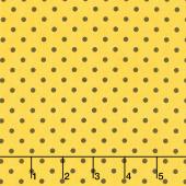 Save the Bees - Dot Honey Yardage
