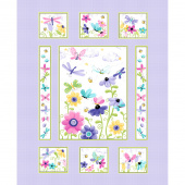 Flutter the Butterfly - Butterfly Quilt Lilac Panel