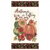 Autumn is Calling - Autumn Banner Cream Panel