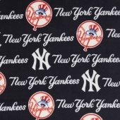 MLB Fleece - New York Yankees Blue Yardage