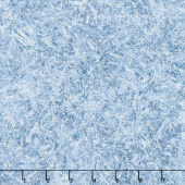 First Snow - Frost Stars Blue Yardage