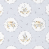 Disney Sentimental - Sweet Thumper in Grey Yardage