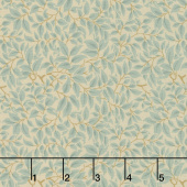 Voysey - The Lisston 1900 Seafoam Yardage