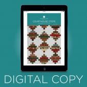 Digital Download - Courthouse Steps Quilt Pattern by MSQC