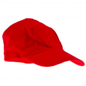 Embroider Buddy Baseball Cap - Red