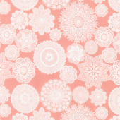 Vintage Keepsakes - Doily Pink Yardage