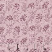 Bed of Roses - Sage Lilac Yardage