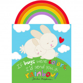 Huggable & Lovable Books - Rainbow Hugs Book Multi Panel