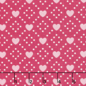 Hello Sweetheart - Diamond Pink Yardage