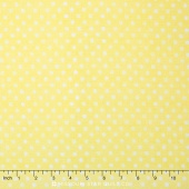 To the Moon & Back - Dots Yellow Yardage