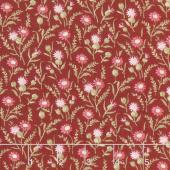 Rhapsody in Reds - Tiny Wildflowers Red Yardage