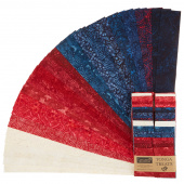 "Tonga Treats Batiks - Patriots 2.5"" Strips"