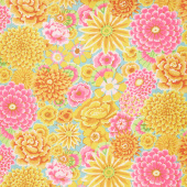 Kaffe Fassett Collective Fall 2018 - Day Enchanted Yellow Yardage
