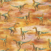 Picture This - Dino Wild Digitally Printed Yardage