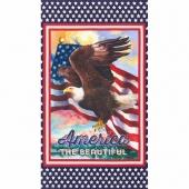 Patriots - America the Beautiful Bald Eagle Americana Digitally Printed Panel