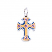 Cross Charm by Pin Peddlers