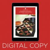 Digital Download - Flickering Starlight Reversible Table Runner Pattern by Missouri Star