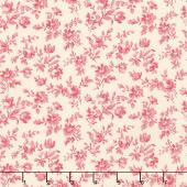 Le Beau Papillon - Marpesia Pearl Faded Red Yardage