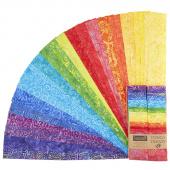 """Tonga Treats Batiks - Vivid 2.5"""" Strips"""