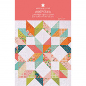 Jenny's Easy Carpenter's Star Quilt Pattern by Missouri Star