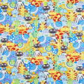 Catmosphere - Packed Cats Multi Yardage