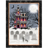 Spooky Night - Spooky House Black Panel