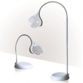 Daylight Magnificent Floor & Table LED Magnifying Lamp
