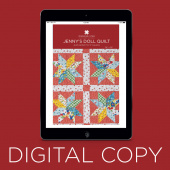 Digital Download - Jenny's Doll Quilt Pattern by Missouri Star