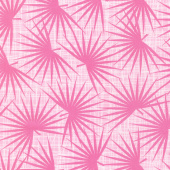 Palm Canyon - Palm Leaves Pink Yardage
