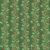 Naughty or Nice - Garland Winter Spruce Yardage