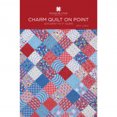 Charm Quilt on Point Quilt Pattern by Missouri Star