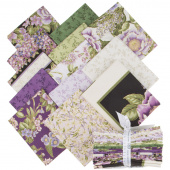 Avery Hill Blossom Metallic Fat Quarter Bundle