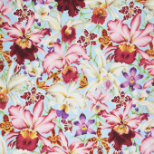 Kaffe Fassett Collective Spring 2018 - Orchids Natural Yardage