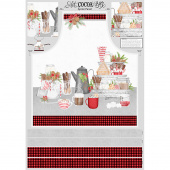 Hot Cocoa Bar - Apron Multi Panel