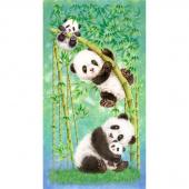 Panda Sanctuary - Panda Multi Digitally Printed Panel