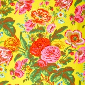 Kaffe Collective Spring 2017 - Sunshine Summer Bouquet Yellow Yardage