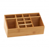 Bamboo Organizer with Magnetic Front