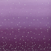 Ombre Fairy Dust Metallic - Aubergine Yardage