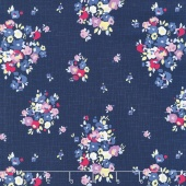 Blue Carolina - Carolina Main Navy Yardage