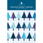 Winter Pines Throw Quilt Pattern by Missouri Star