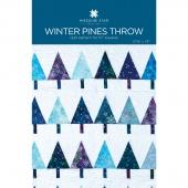 Winter Pines Throw Quilt Pattern by Missouri Star