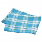 Tea Towel - Plaid Turquoise