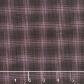 Itty Bitty - Small Plaid Purple Yarn Dye Yardage