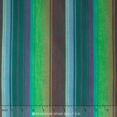 Kaffe Wovens - Exotic Stripe Emerald Yardage