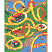 Hot Wheels - Race Track Multi Canvas Panel