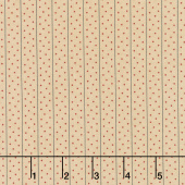 Shelbyville - Meander Dots Light Tan Yardage