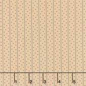 Shelbyville - Meander Dots Light Tan Yardage